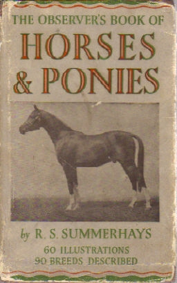 Observer's Book of Horse & Ponies