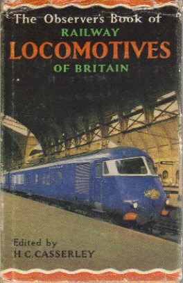 Observer's Book of Railway locos 1962