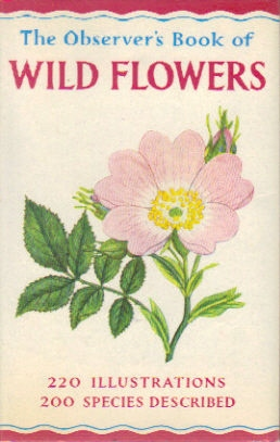 Observer's Book of Wild Flowers 1965
