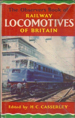 Observer's Book of Railway Locomotives 1964